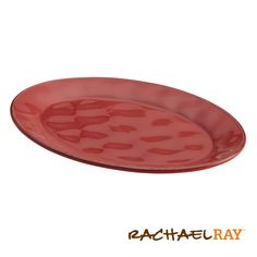 Rachael Ray Cucina 10 x 14 Oval Platter, Cranberry Red #giveaway