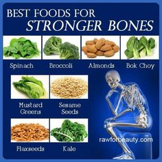 Foods for stronger bones. Problem many foods low in minerals yet body mostly minerals. Many people degenerated/lost bone. Many calcium supplements TOO BIG to absorb. Collects in arteries. Can add to heart disease. Terrmin (on Amazon) only mineral/calcium supplement recommend as minerals one micron (man can't do but force of Colorado River can). 15 million y/o w/57 different minerals. Use immediately to make new cells, repair, remove toxins. Synergistic effect when all minerals present…