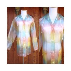 Mod Plastic Raincoat Rain Coat