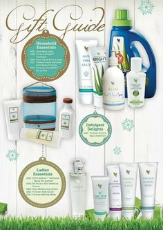 MAKE THIS YEAR THE BEST FESTIVE SEASON EVER – BUY YOUR LOVED ONES A FOREVER LIVING PRODUCTS GIFT Here is the Forever Gift Guide Contact me on:http://myaloevera.fi/ritvatoikka/