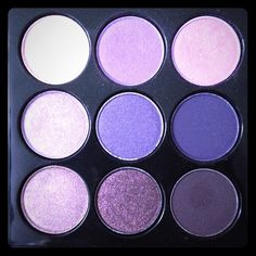 Mac Purple Times Nine Only s / w Never Used! Beautiful colors but I just don't reach for this palette, will compliment any eye color especially brown and hazel eyes :) MAC Cosmetics Makeup Eyeshadow