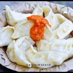 Tibetan Dumplings_These dumplings, called momos, are native to Tibet and Nepal. They are usually served in a clear soup but they are good on their own.