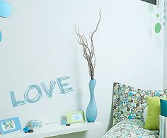 LOVE Vinyl Wall Decal or Car Sticker VSS by TheVinylStickerShop