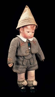 In the Mind's Eye - The Geri Baker Collection: 157 German Cloth Character in Original Tyrolean Costume by Kathe Kruse