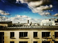 View from my window.  Paris, France.