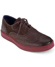 Cole Haan Men's Shoes, Bergen Wing-Tip Lace Shoes