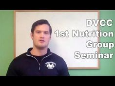 DVCC 1st Group Nutrition Seminar