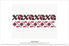 Semne Cusute: Romanian traditional motifs Folk Embroidery, Embroidery Patterns, Cross Stitch Patterns, Loom Beading, Beading Patterns, Loom Bracelets, Hama Beads, Pixel Art, Diy And Crafts