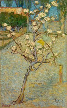 Vincent van Gogh (1853-1890), Small Pear Tree in Blossom, 1888. Oil on Canvas.  Van Gogh Museum, Amsterdam  (Vincent van Gogh Stichting)