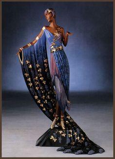 Erte Art Deco Figurine 'L' Amour du Vin'. Erte's are basically dolls for adults, but I still like 'em