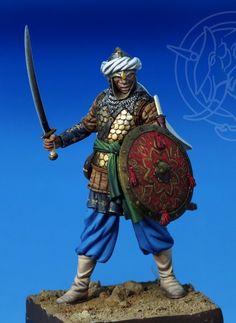 Muslim Warrior XIII C.