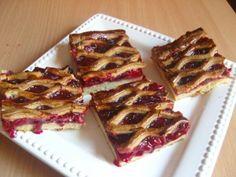 Rácsos meggyes pite - Sütemény receptek Waffles, Muffins, French Toast, Cookies, Breakfast, Recipes, Food, Crack Crackers, Morning Coffee