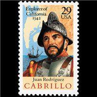 1992 29c Juan Rodriguez Cabrillo Mint Single ($0.75)