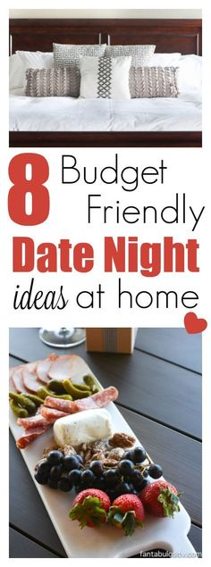 At home date night ideas, that are budget friendly and so fun!