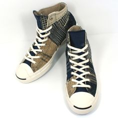 ed65ed119b90 Converse First String Jack Purcell Patchwork Boro - 2013 Deadstock