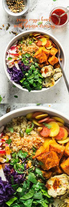 #vegan #vegetarian #bowl #glutenfree #healthy #lunch #quinoa #dairyfree