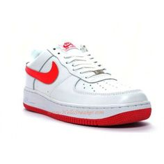 save off c3e97 a4c61 315122-163 Womens Air Force 1 07 Low white varsity red