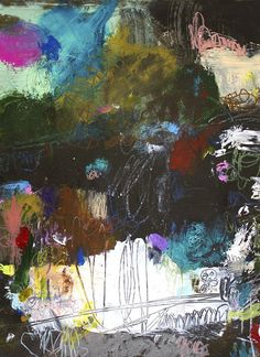 ABSTRACT ART Canvas Print of What Doesn't Kill Us