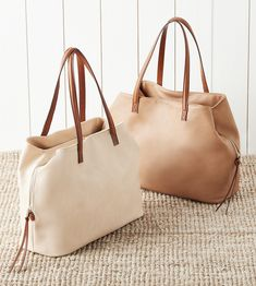 Roomy tote bag with three inside compartments | Sole Society Miller