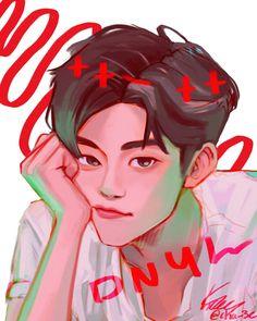 Lucas Nct, Cartoon Drawings, Cute Drawings, Nct Dream Jaemin, Minimalist Photography, Na Jaemin, Kpop Fanart, Aesthetic Art, Cute Art