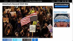 Up to now, the new Civil War has been mostly non-violent. But with the recent riots and violent occupations, conservatives have realized we're in a real war over basic value systems. READ MORE: www.Hosken-News.info/news/article_170124b.htm