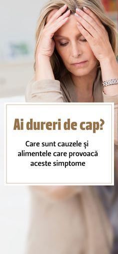 Durerea de cap cunoscută în termeni medicali și sub denumirea de cefalee este simptomul des întâlnit la majoritatea adulților, dar și la copii. Este durerea localizată în special în zona capului, însă se poate extinde și în zona gâtului ori în segmentul superior al spatelui. Iată care sunt cauzele apariției durerilor de cap, dar și care sunt alimentele care pot provoca aceste simptome. #dureridecap #dureredecap #dureridespate Bathroom Ideas, Cape, Mantle, Cabo, Coats, Decorating Bathrooms