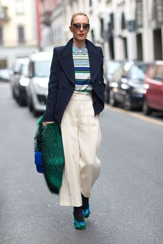 street style: Milan Fashion Week Fall 2014...