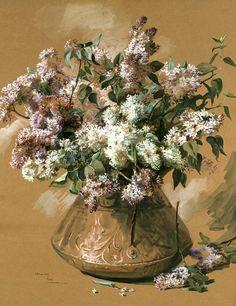 Lilacs (Elizabeth Nourse - 1891)