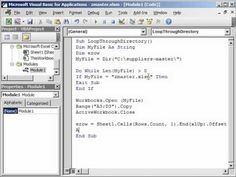 Transfer Data from Multiple Workbooks into Master Workbook Automatically - YouTube