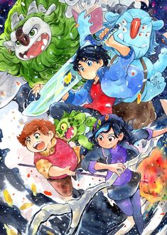 """sangobouro: """"Hey I came back to Japan. I appreciate my friend took me out to Dream Works studio. And introduced me to Trollhunters artists. I met amazing persons a lot. That time was really amazing memories like time in a dream. Merlin, Trollhunters Characters, Cartoon Art Styles, Cartoon Shows, Geek Out, Disney And Dreamworks, Anime Style, Miraculous Ladybug, Wallpaper"""