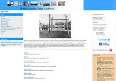 North Carolina State Archives: http://www.archives.ncdcr.gov via @url2pin