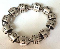 Taxco William Spratling Rancho Sterling Silver Bracelet #Taxco