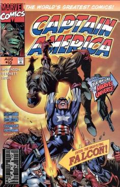 Marvel Comics - Your New Guide Marvel Universe - The Worlds Greatest Comics - Enter The Highflying Falcon - Robinson