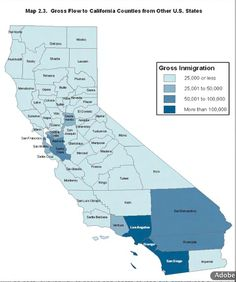 Orange County is one of the most popular counties for people relocating to California
