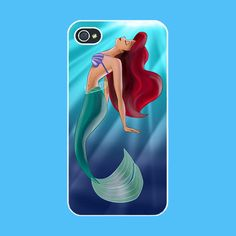 Iphone 4 Case-- The Little Mermaid