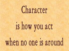 Whoever walks in integrity walks securely, he who makes his ways crooked will be found out.  Proverbs 10:9 ESV