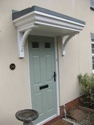 Image result for front porch canopy & Timber front door canopy/porch made to measure | Front door canopy ...
