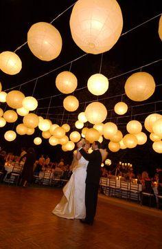 Lanternas de papel no chá ou no casamento | Blog de Casamento