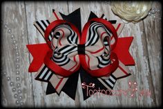 Preppy Boutique Hair Bow School Girl bow by PinkHairBowBoutique