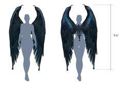 Resultado de imagen para maleficent wings