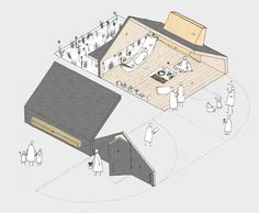 Coal Shed Shed, Hauser + Wirth competition 2015 Axo.jpg                                                                                                                                                      More