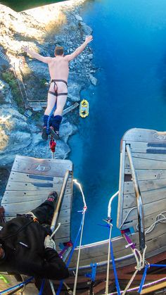 Bungy jumping naked in New Zealand? No and NO.