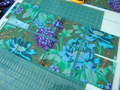 made by ChrissieD: Tutorial: Charm Squares - An Easy Way To Cut Multiples Quickly