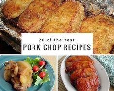 Looking for a super delicious, easy and quick dinner tonight? These pork chop recipes are your answer. Here are 20 of our most popular pork chop recipes on Just A Pinch! Dinner Entrees, Dinner Dishes, Main Dishes, Bacon Wrapped Burger, Instant Pot, Pork Rib Recipes, Ham Recipes, Casserole Recipes, Yummy Recipes