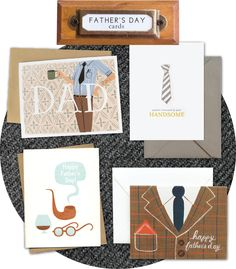 Father's Day Cards at Urbanic:  quill+fox, sugar paper, fugu fugu, and rifle paper co.