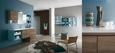 meuble salle de bain bois la collection Hope par Rab Arredobagno