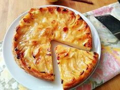 tarta de manzana muy fácil Cooking Time, Cooking Recipes, Banana French Toast, Bon Dessert, Apple Cake Recipes, Pastry Cake, Mets, Sweet And Salty, Sin Gluten
