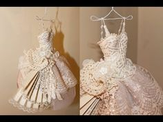 Art Dress - Paper and Lace, Paper Mache Bodice