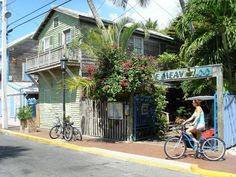Blue Heaven, Key West.  A very cool place with delicious food.  Best Key Lime Pie in KW.