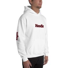 This hoodie with Clever text features a printed, funny Hoodie text at the chest as well as sleeve texts Left and Right at each sleeve. This clever hoodie is perfect for making your friends admire your style. Funny Hoodies, Sweatshirts, High Fashion Outfits, Text Features, Funny Outfits, Rib Knit, Your Style, Clever, Street Wear